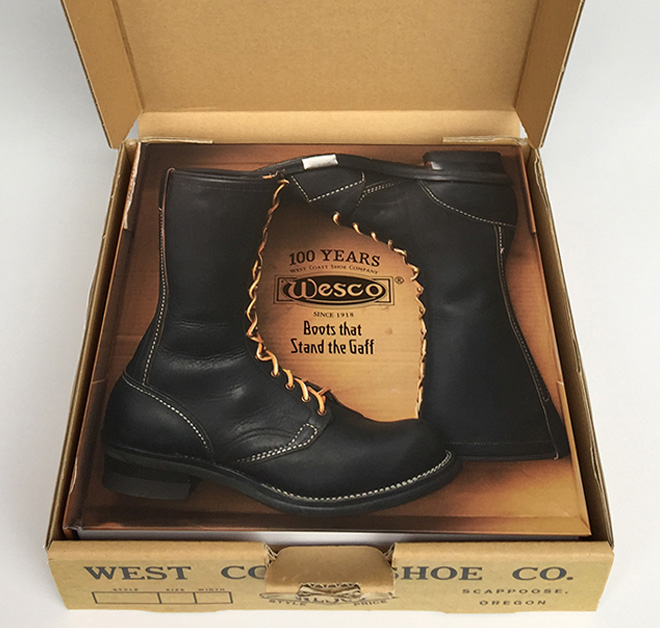 West Coast Shoe Company -Boots that Stand the Gaff-